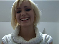 Blond Hotty Picked up and Fucked at HomeParty