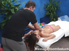 Hottie with wonderful forms of body screws with hawt masseur