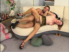 Ninette&Lesley nasty hose action