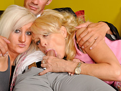 Mothers Teaching Daughters How To Engulf Weenie #02
