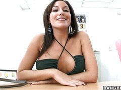 Beautiful adriana deville is having amazing fuck with her bf