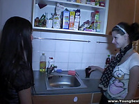 Wonderful foursome with two passionate men and two lascivious sluts