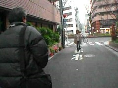 Japanese chick sucking old guy