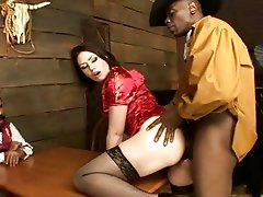 Randy Sarah Shevon gets her tight pussy stretched