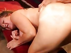 Big ass brunette milf in boots gets slammed doggy style