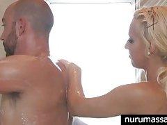 Hot blonde Destiny Jaymes hot massage