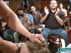 Party boys sucking cock