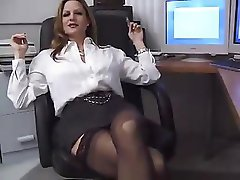His Titted Secretary...F70