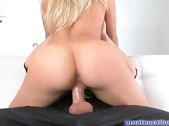 Merry Blond Fucked Hard Mouth Creamed