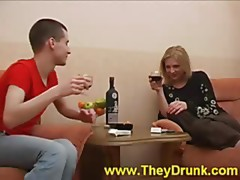 Drunk doggy style