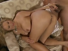 Blonde Julia Ann Fucks Cowgirl and Doggy Style And Gets Cum On Her Ass