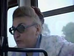 Dirty public banging in a bus