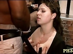 Blowing cocks sluts at party
